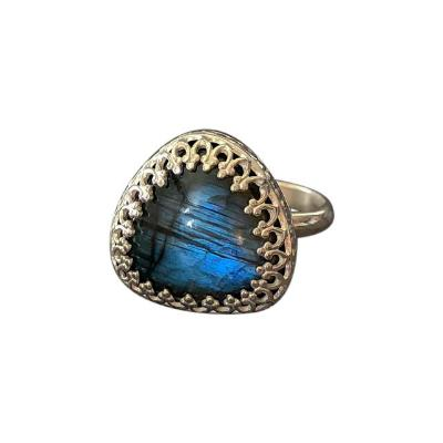 Labradorite Goddess Ring - Emma's Jewelry Box