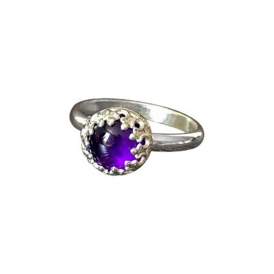 Goddess Amethyst Ring - Emma's Jewelry Box