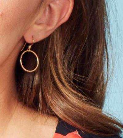 14k Gold Hoop Earrings - Emma's Jewelry Box