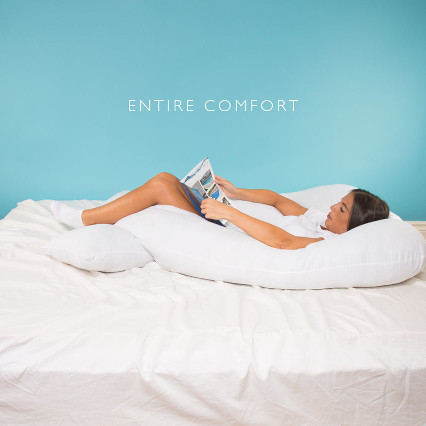 EntireComfort™ PRO Full Body Pillow (Made in USA) 5½ feet long!