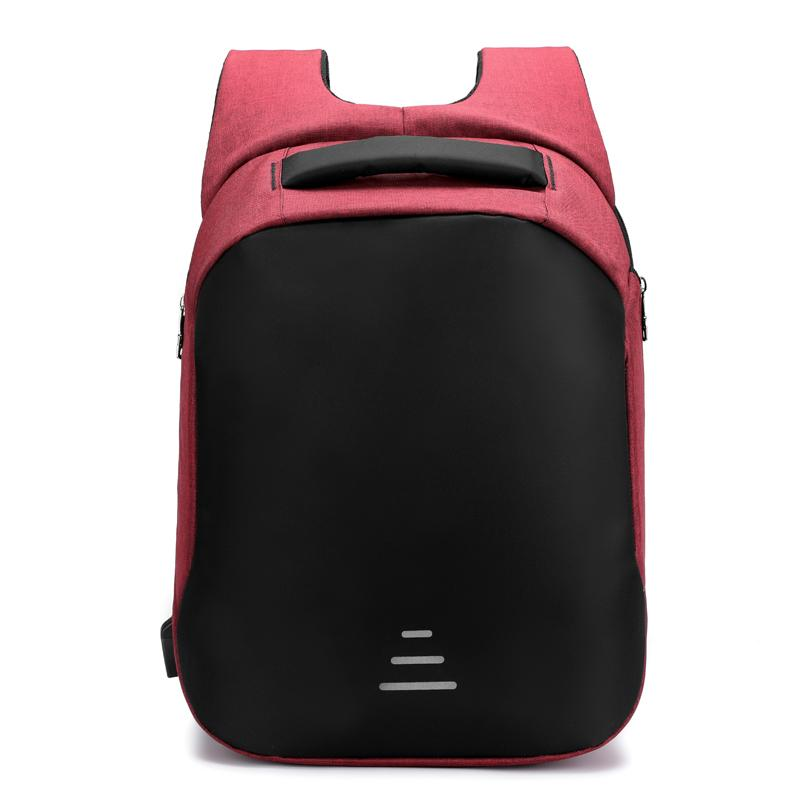 The Modern Bag Front Red