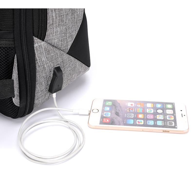 Modern Bag USB Hole