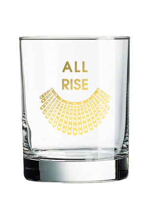 All Rise RBG Rocks Glass