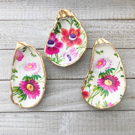 Floral Oyster Gift Shell (ea)