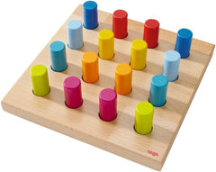 Rainbow Whirls Peg Game