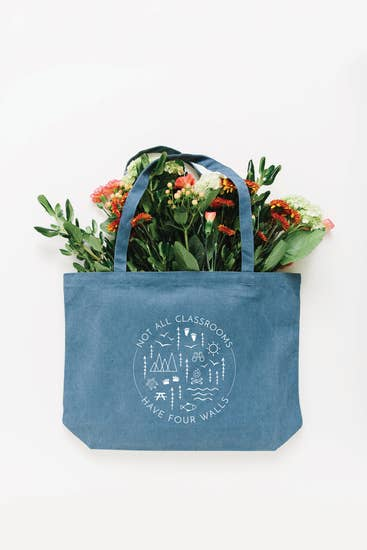 Not All Classrooms Have Four Walls MEDIUM Tote