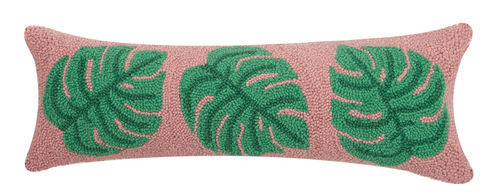 Three Palms Hook Pillow