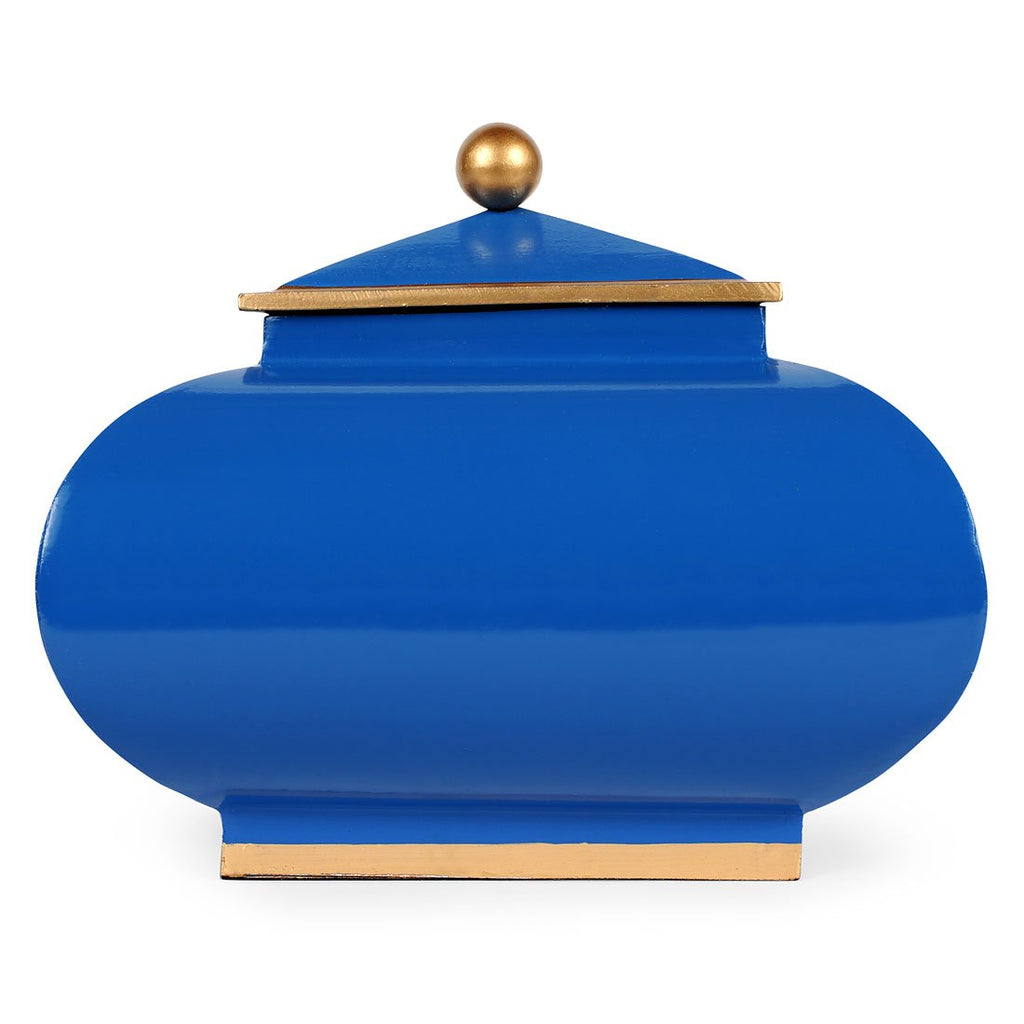 Navy Color Block Squash Pot