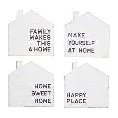 Happy Home Coaster Set