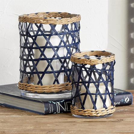 Roped Basketweave Navy Hurricane