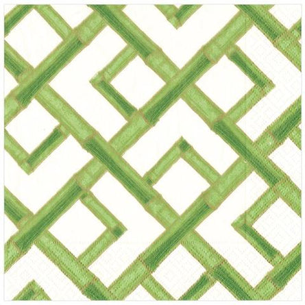 Green Bamboo Paper Dinner Napkin