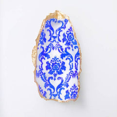 Chinoiserie Bluel Oyster Gift Shell (ea)