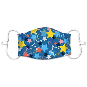 Kids Mask Bursting Stars