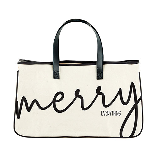 Merry everything Canvas Tote