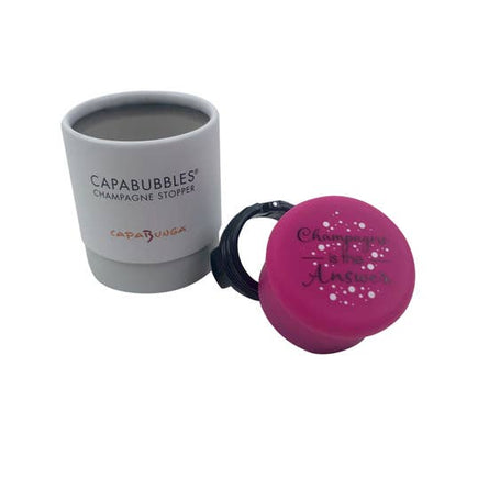 CapaBubbles® Champagne is the Answer Champagne Stopper