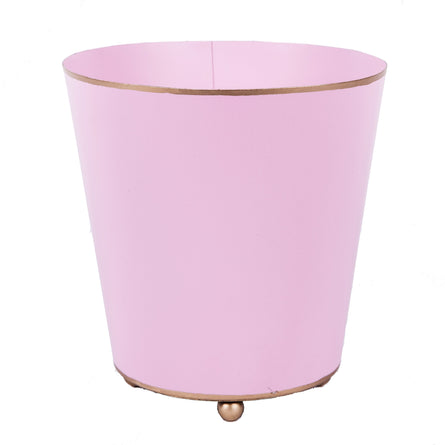 "6"" Round Light Pink Cachepot"