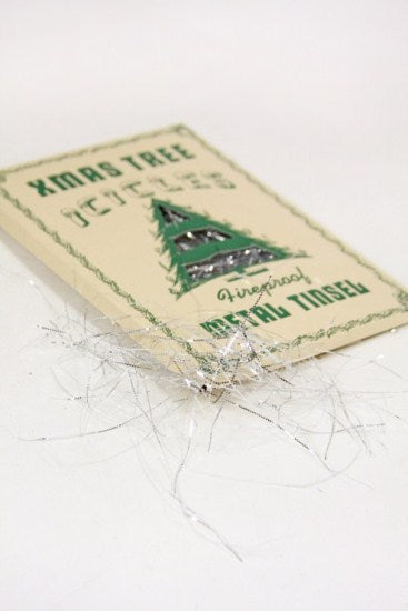 Vintage Christmas Tree Icicles
