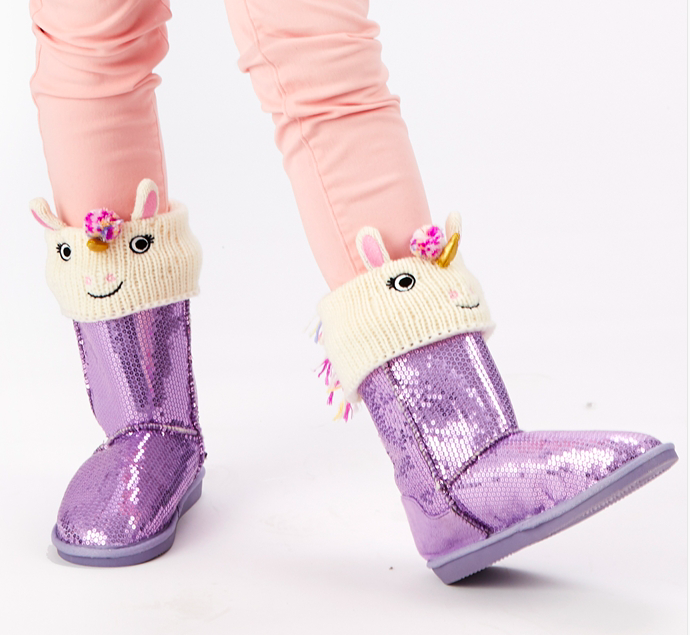Unicorn Boot Cuffs