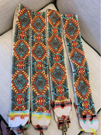 Navajo Group Guitar Strap