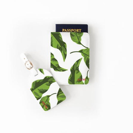 Banana Leaf Passport Set