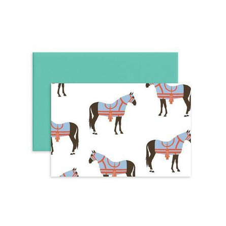 Horse Folded Notecard Set/12