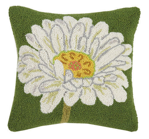 Daisy Hook Pillow 16x16