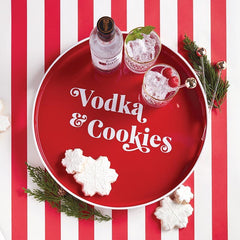 Vodka & Cookies Bar Tray