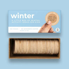 Winter Activities Idea Box For Kids
