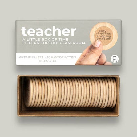 Teacher Time Fillers Idea Box