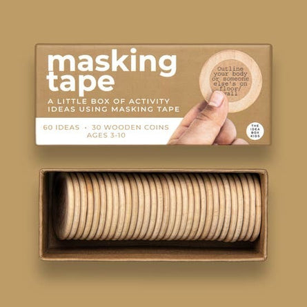 Masking Tape Activites Idea Box for Kids