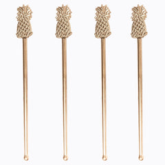 Pineapple Swizzle Stick Drink Stirrers
