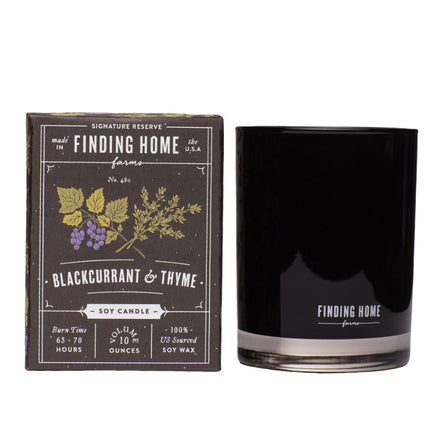 FH Blackcurrant & Thyme 10oz Boxed Candle