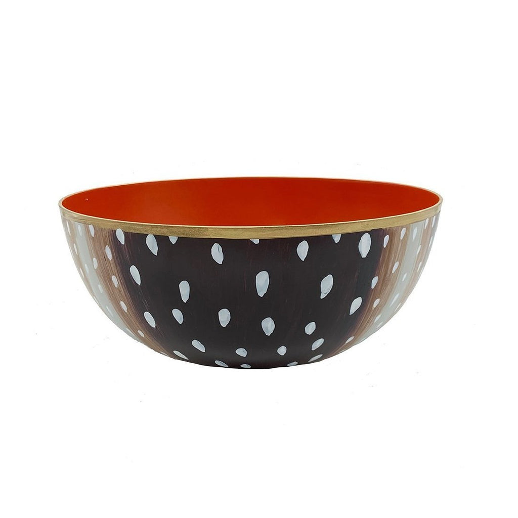 Antelope Small Bowl W Orange
