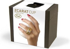 2 Carat Gold Ring Cup