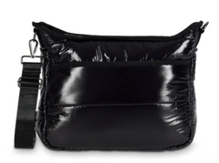 Perri Slick Puffer Crossbody (slick black)