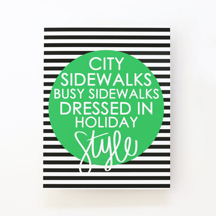 City Sidewalks Boxed Cards S/8