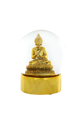 Buddha Snowglobe Medium