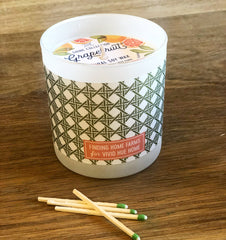 Vivid Hue Home Grapefruit Candle
