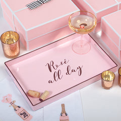 Rose All Day Tray