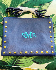 Preppy Studded Cross Body