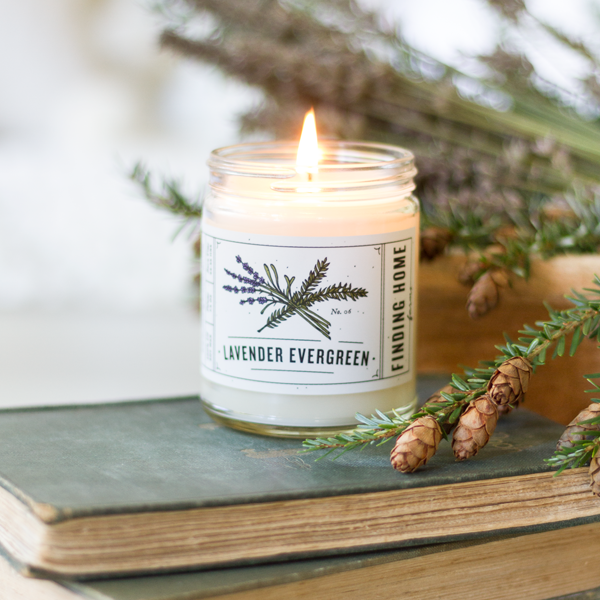 FH Lavender Evergreen 13oz Soy Candle