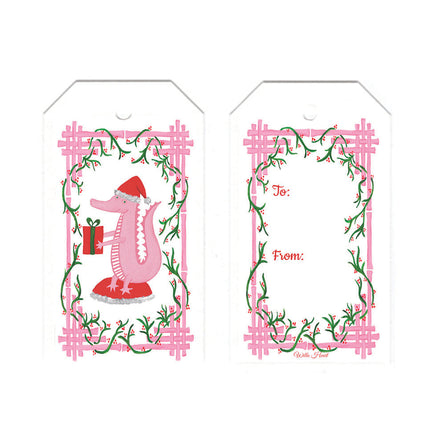Garland & Gator Gift Tag Set of 10 by Willa Heart
