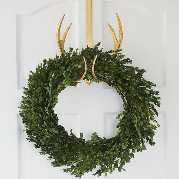 Antler Wreath Holder