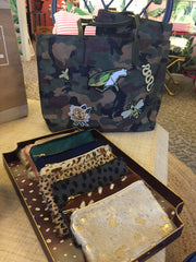 Military Camo Patch Tote