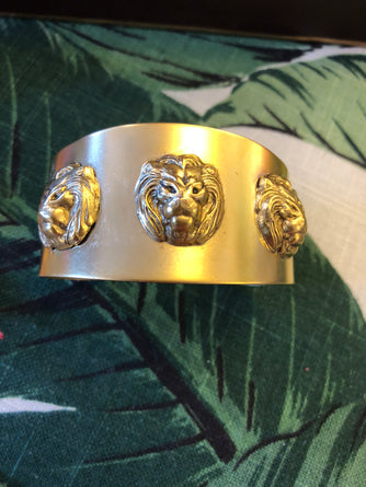 Lion Head Bangle