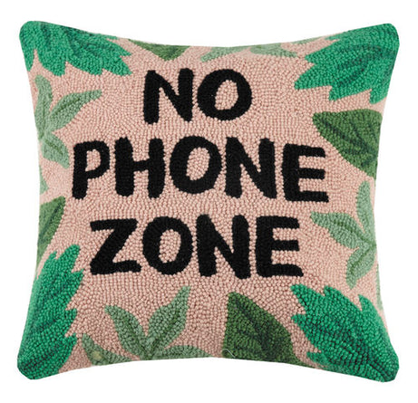 No Phone Zone Hook Pillow