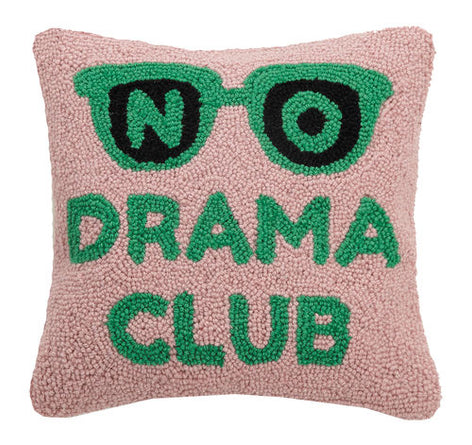 No Drama Club Eyeglass Pillow