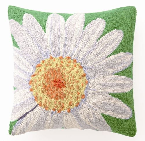 Large Daisy Hook Pillow