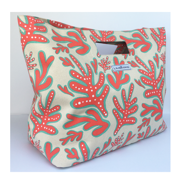 Crazy Coral Lilibridge Tote Bag