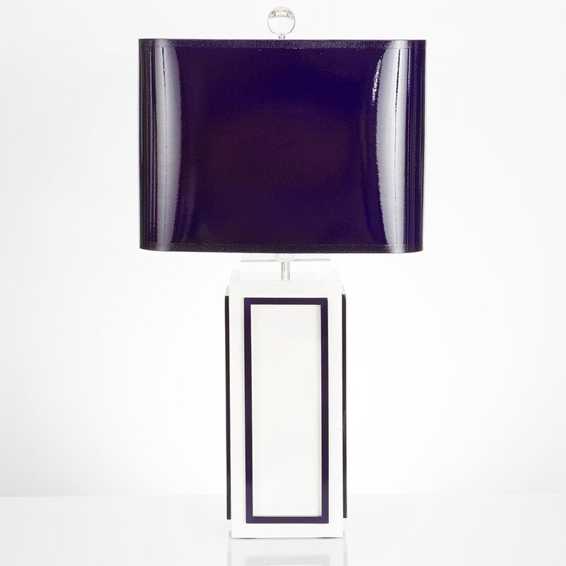 Lagos 29.5 Table Lamp Indigo